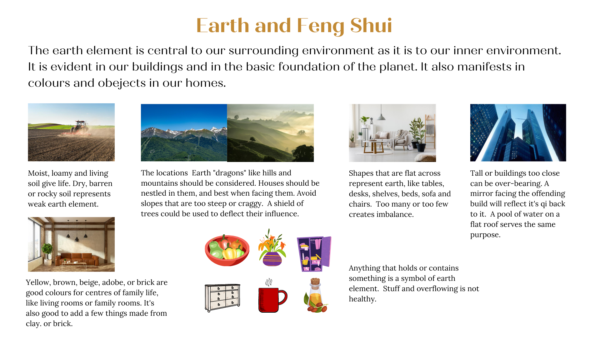 Earth Element & Feng Shui